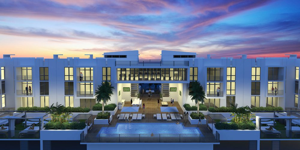 Delray Beach homes with resort-style amenities at 111 First Delray