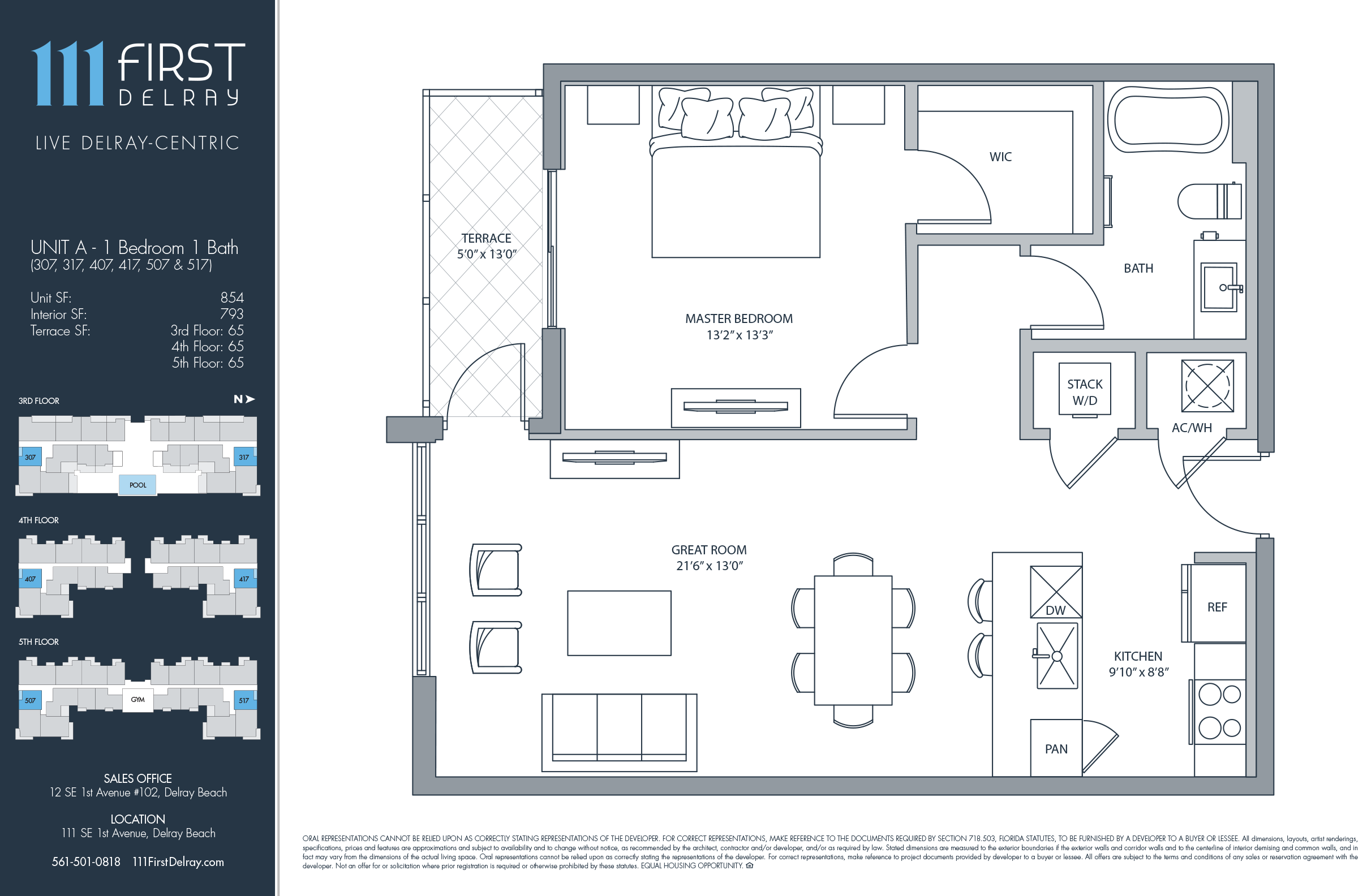 111 First Delray Beach Homes - Unit A