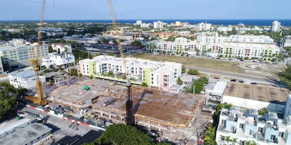 111 First Delray Construction Progress March 2018