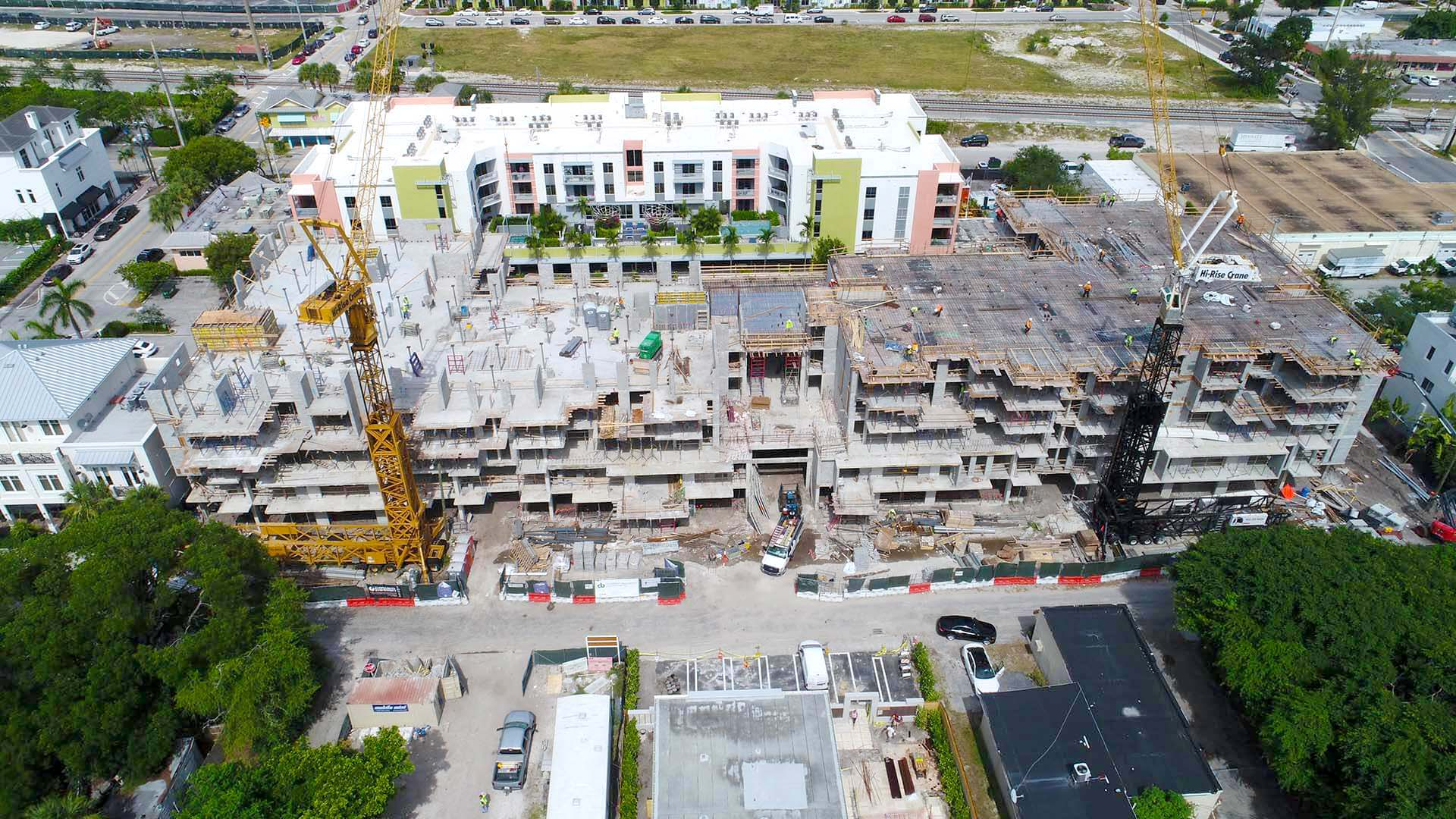 111 first delray construction july