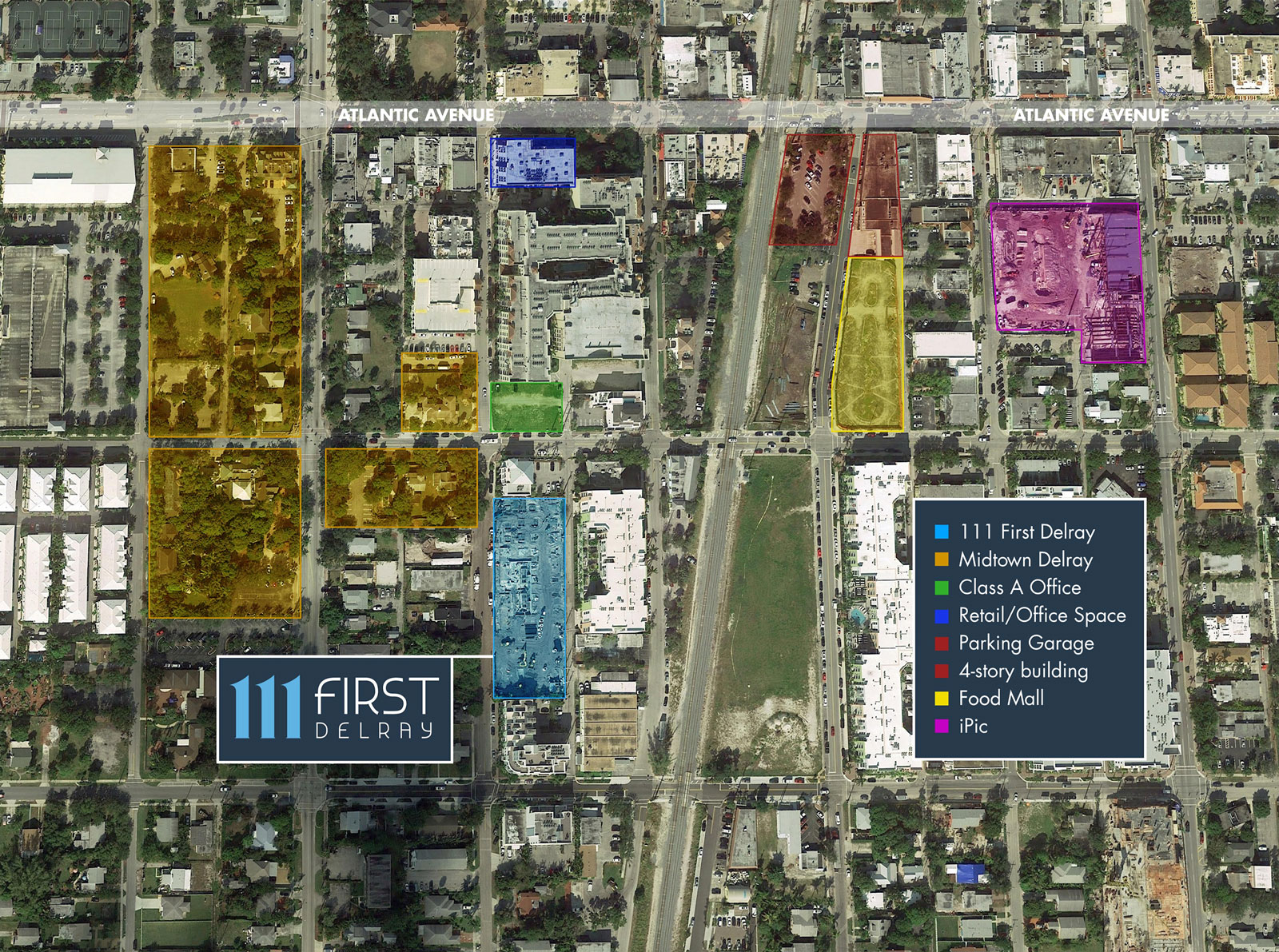 111 First Delray Condo SofA District Map